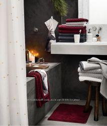 Коврик для ванной  H&M , бордо