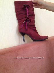 Жіночі шкіряні чобітки