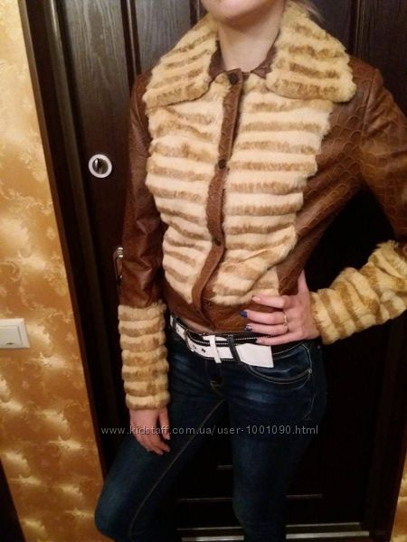 Новая куртка кожа