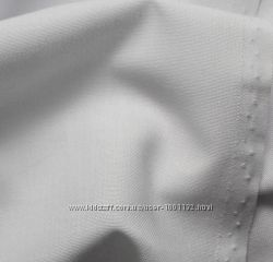 Домоткане полотно Луцьке Онікс N30 білого кольору