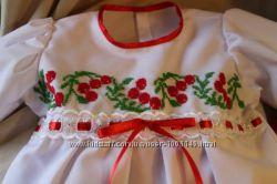 костюм для крещения Калинка