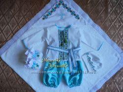 костюм для крещения Маленький патріот
