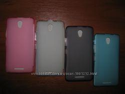 Силиконовая накладка для смартфона Lenovo A5000.