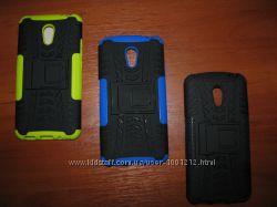 Ударопрочная прорезиненная накладка для смартфона Meizu M2 Note