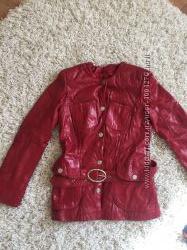 Куртка кожаная для девушки, женщины