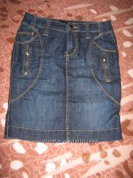 Джинсовая юбка -карандаш
