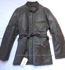 куртка теплая кожа нат. Италия