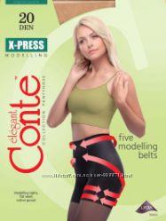 Тонкие колготки с утяжкой X-PRESS 20 den ТМ Conte. Низкие цены