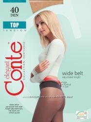 Плотные колготки TOP 40 den ТМ Conte с низкой талией. Низкие цены