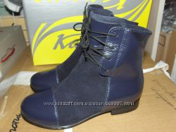 Деми ботиночки Каприз 31-36 кожа замш
