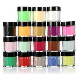 Набор цветных акрилов для наращивания 18 цветов