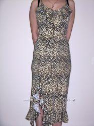 Сарафан леопардовой расцветки. Размер 36 S, украинский  42