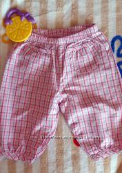 Коттоновые штанишки бриджи Gар новые. Рост 62-68