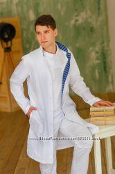 Мужской медицинский халат Стиль