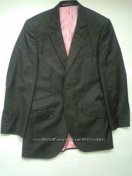 Костюм классика пиджак брюки класический приталенный узкий