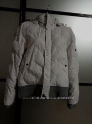 Куртка зимняя белая, размер М
