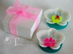 Орхидея - королева тропиков. Сувенирное мыло