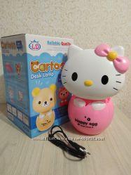 Настольная LED лампа Hello Kitty, ночник, светильник