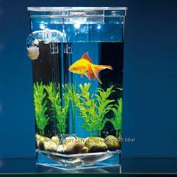Аквариум 2л самоочищающийся My Fun Fish, для рыбок или сомика