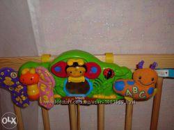 Музыкальная обучающая панель-подвеска-бабочка Vtech, подвески на коляску