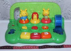 Музыкальное пианино для ребенка Мир животных