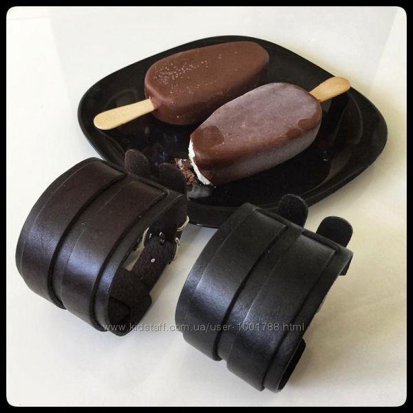 Выдающийся Vintage Браслет-манжет-напульсник кожа