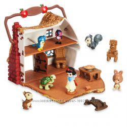 Игровой набор мини аниматор Белоснежка в домике с аксессуарами Дисней