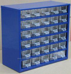 Органайзер. Ящик с ячейками , секции для хранения мелочей.