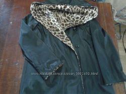 Двухсторонняя пальто- плащ