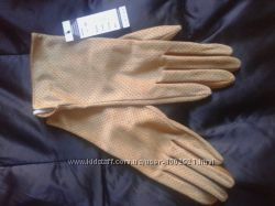 Перчатки из натуральной замши