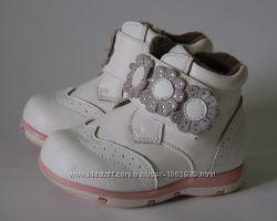 Деми ботиночки SCARLETT для малышки. 20р. стелька 13см