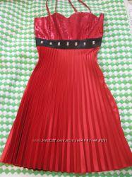 Атласное платье Montella