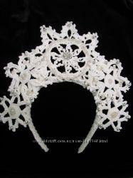Новогодняя корона. Обручи, заколки, волшебные палочки.