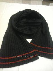 Теплый шарф ручной вязки