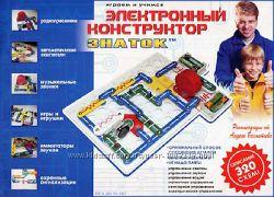Электронный конструктор ЗНАТОК 320 схем