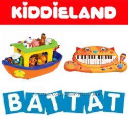 Игрушки KIDDIELAND, BATTAT, OUAPS в поврежденной упаковке