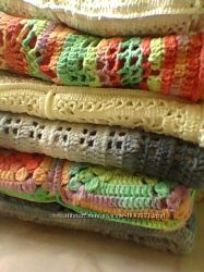 Подушки диванные для интерьера, вязаные наволочки