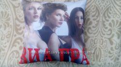 Фото подушка с группой ВиаГра отлично на подарок