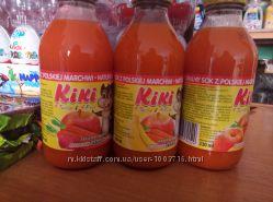 Kiki сок для детей , 330мл. без сахара
