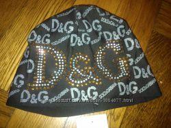 шапочка двойная D&G женская новая