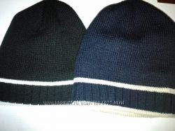 шапки мужские-подростковые-унисекс на флисе, акрил, новые