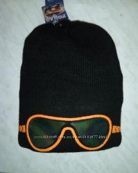 стильная молодежная шапка с 3D аппликацией,