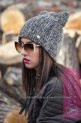 Стильная теплая шапочка