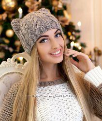 Зимняя женская шапка-кошка Кэти стронг