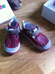 Детские Кожаные сандали, босоножки