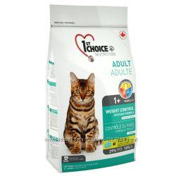 1st Choice Фест Чойс контроль веса для похудения котов