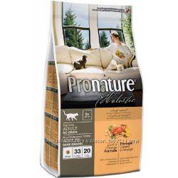 Pronature Holistic с уткой и апельсинами Без злаков