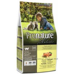 Pronature Holistic Пронатюр Холистик с курицей и бататом для котят