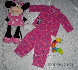 Продам отличную пижамку с Минни для вашей крохи