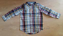 Стильная рубашка крейзи8. Размер 5-6 лет